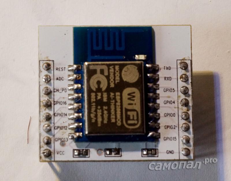 ESP8266 на терминальной плате