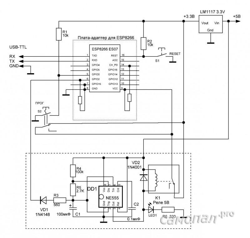 Схема WDT