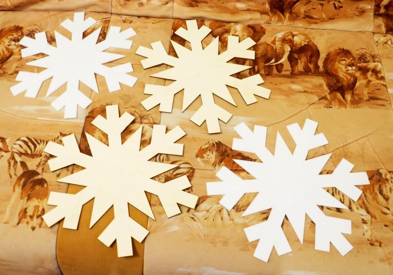 Заготовка для снежики