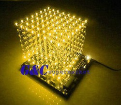 3D-LightSquared-DIY-Kit-8x8x8-3mm-LED-Cube-Yellow-Ray-LED-