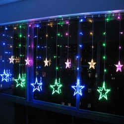 Christmas-Holiday-Wedding-Curtain-Lights-2m-12pcs-Big-Stars-Pendant-Led-String-Fairy-Lights-Garland-1
