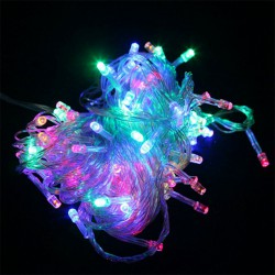 Lighting-LED-String-10M-100leds-AC-220V-colorful-holiday-Fairy-lighting-party-garden-Xmas-decoration-led