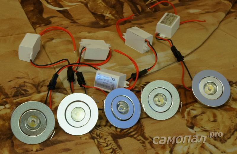 Точечные светильники с TAOBAO