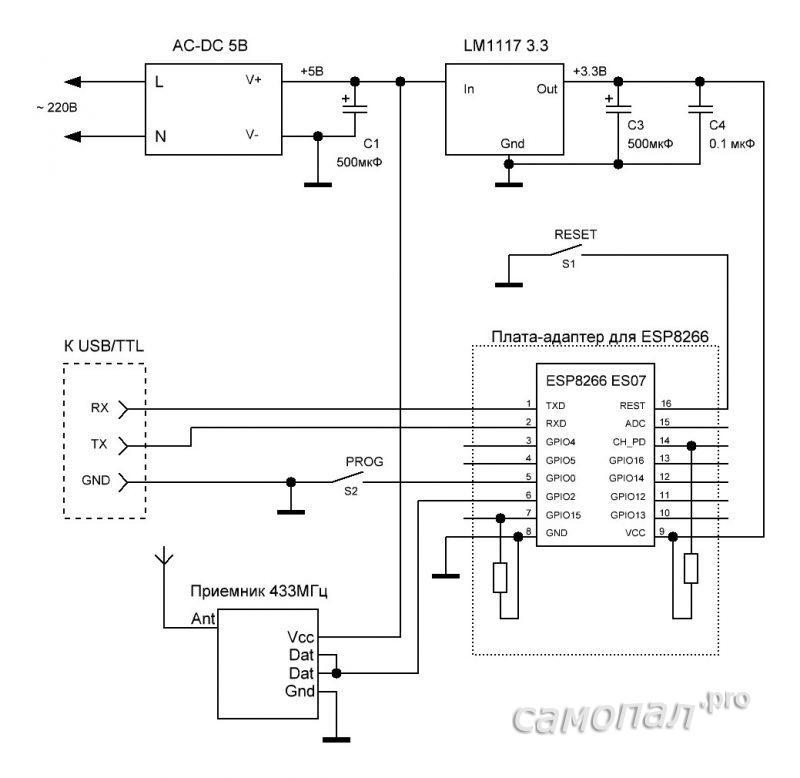 Gateway_4ESP8266