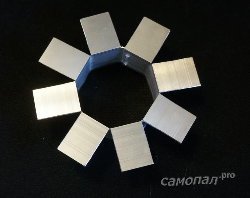 Рама радиатор для кольцевой вспышки