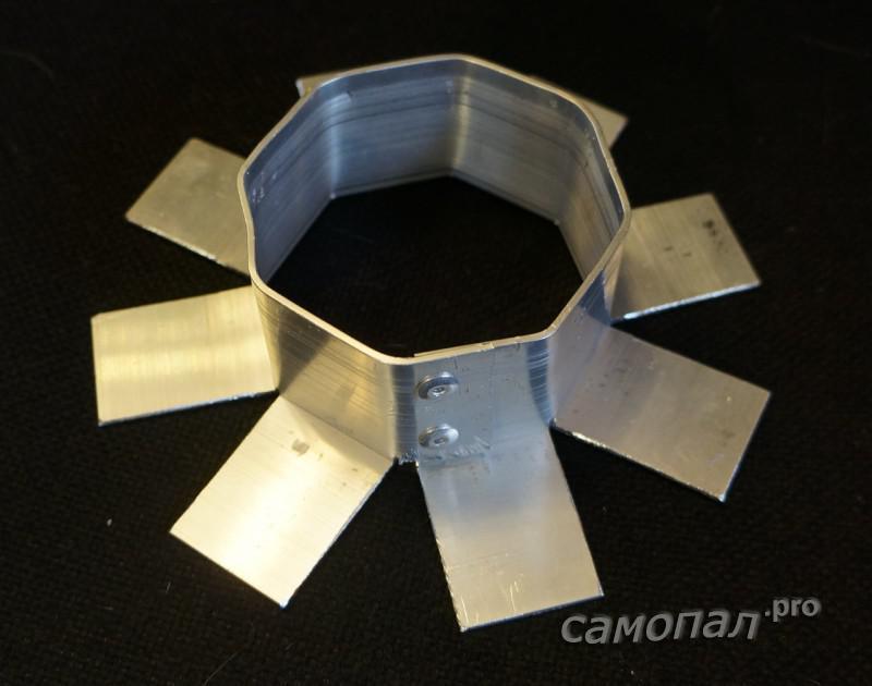 Алюминиевая лампа для кольцевой вспышки
