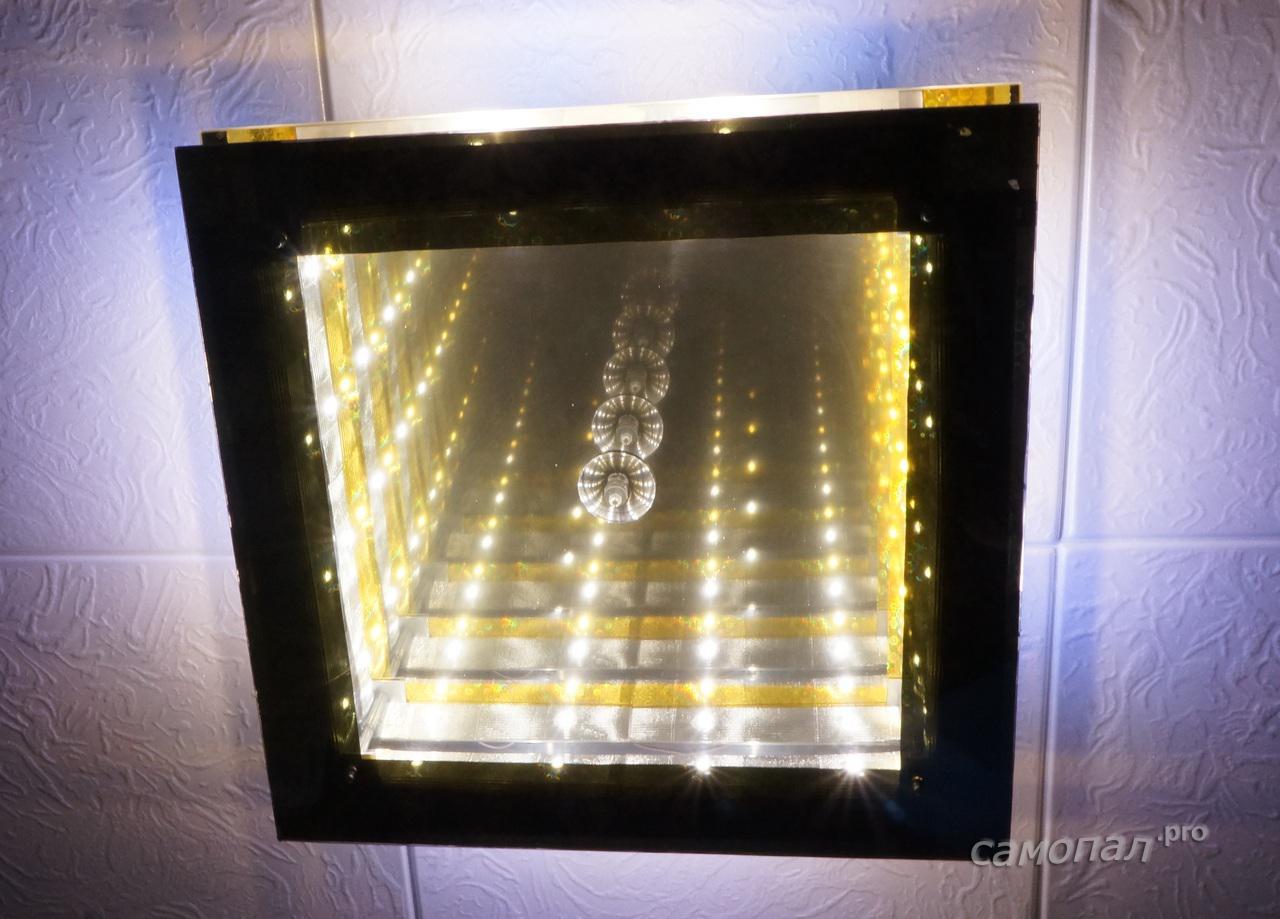 Как сделать светильник из светодиодов