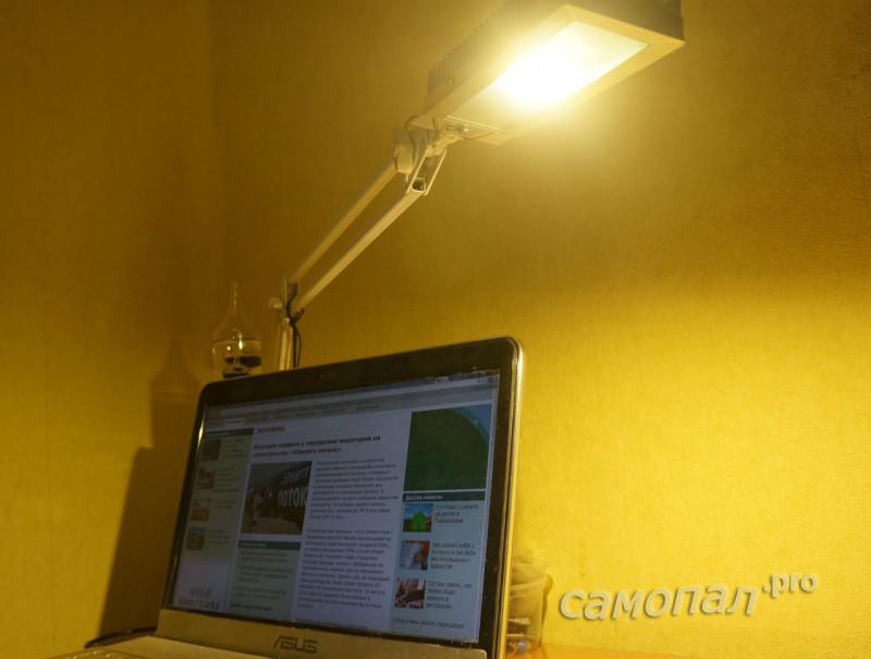 Настольная лампа на COB 20вт