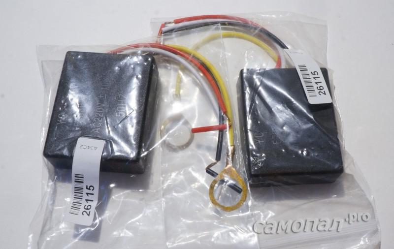 Недорогие сенсорные выключатели в упаковке