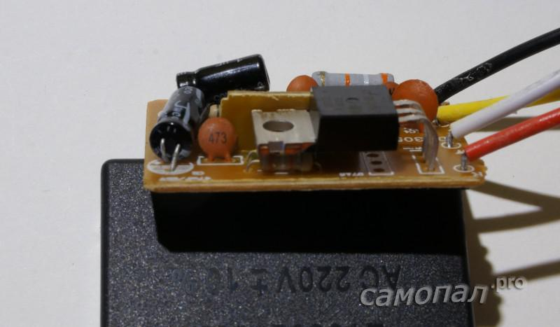 Сенсорный выключатель на BT137
