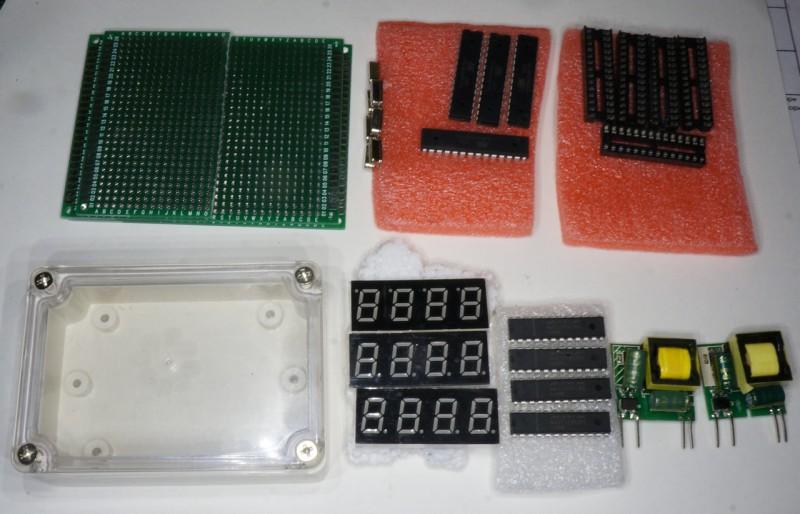 Компоненты самодельного контроллера