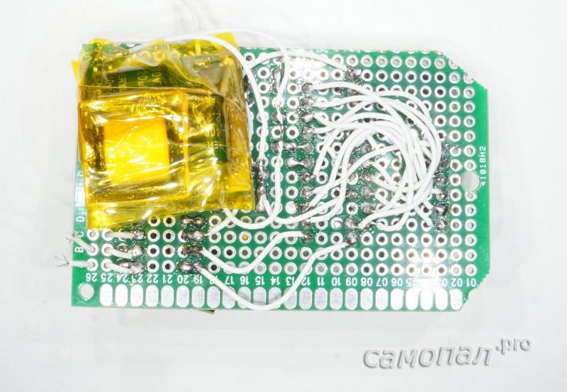 Монтаж самодельного контроллера