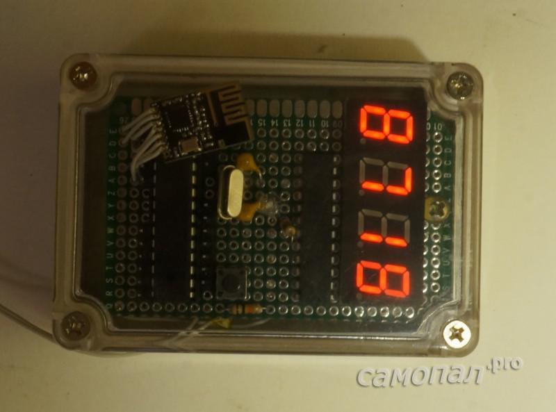 Самодельный контроллер в работе