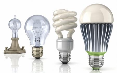 Эволюция лампочки