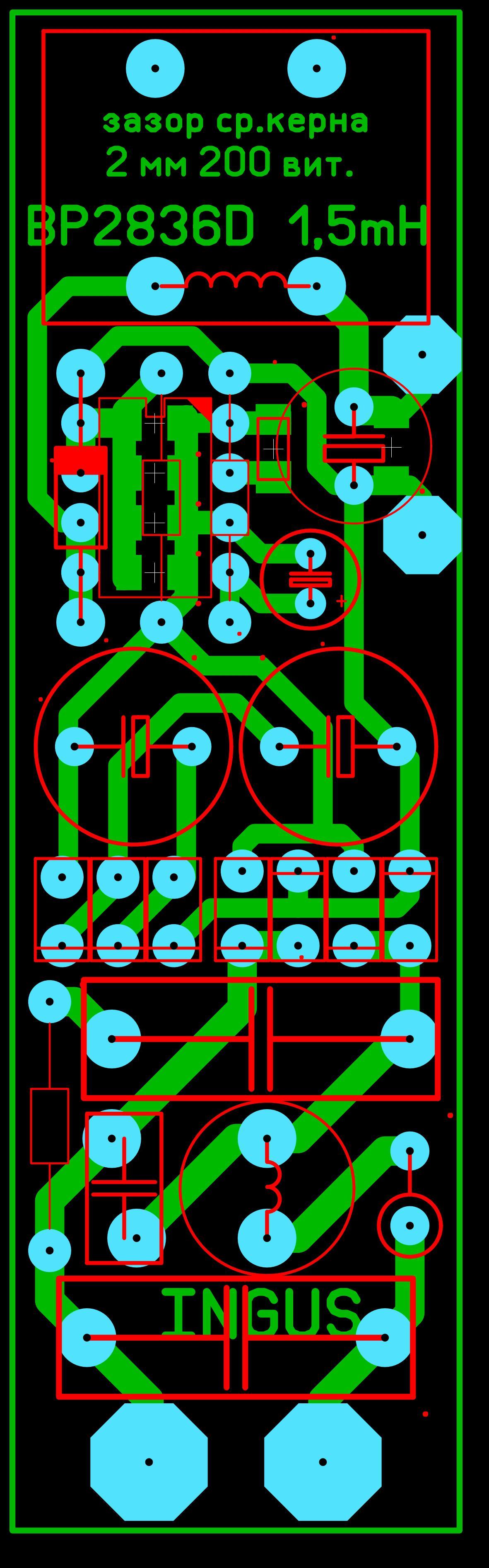 схема включения одноватного светодиода